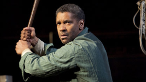 Denzel Washington in Fences. He reportedly plans to star in revival of Raisin in the Sun