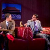In Glen Garry Glen Ross, Jeremy Shamos as customer/mark of salesman/conman Bobby Cannavale