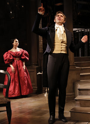 Bebe Neuwirth and Lee Pace in Terence McNally's Golden Age