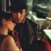 Anne Hathaway and Hugh Jackman in Les Miserables, on Amazon Prime