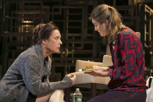 Laurie Metcalf and daughter Zoe Perry