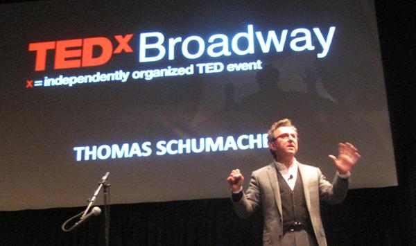 Thomas Schumacher, president of Disney Theater Group