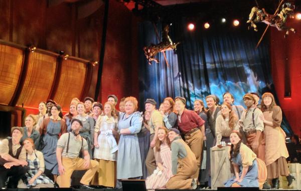 Stephanie Blythe and cast of Carousel