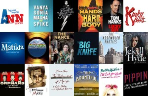 Broadway shows Spring 2013, in order of opening dates