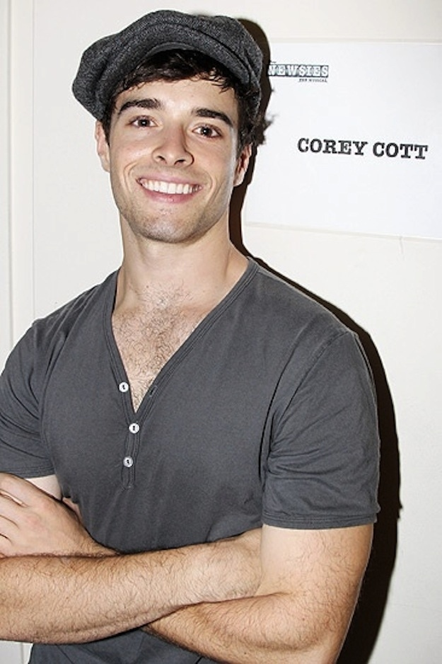 Corey Cott, Newsies