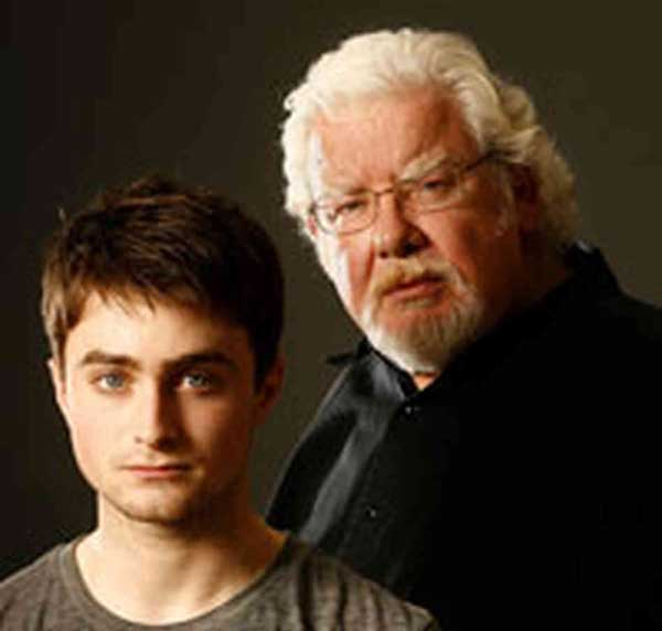 "Daniel Radcliffe and Richard Griffiths in ""Equus"" on Broadway"
