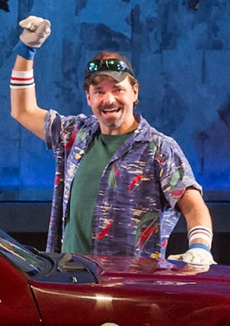 Hunter Foster in Hands on A Hardbody on Broadway