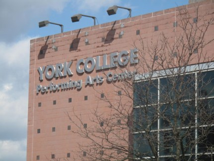 A new play is getting its world premiere at York College