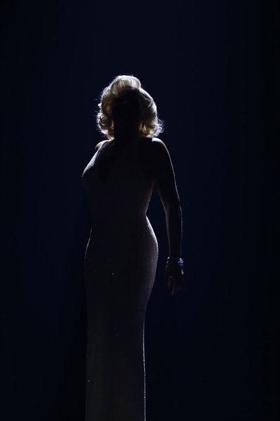 Smash Bombshell Megan Hilty as Marilyn