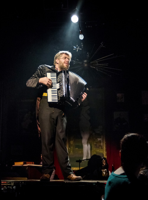 "David Malloy, creator of and Pierre in ""Natasha, Pierre and the Great Comet of 1812"""