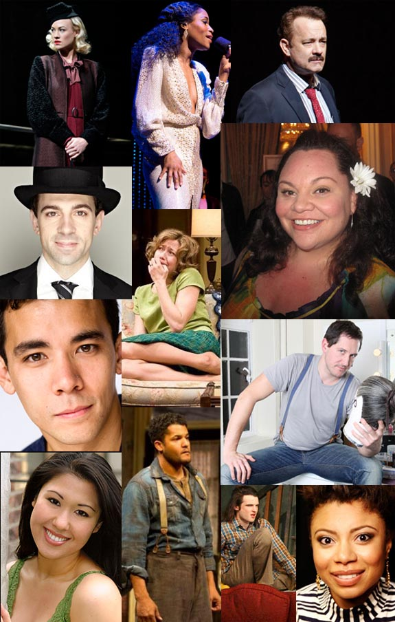 The 12 winners of the 2013 Theatre World Awards