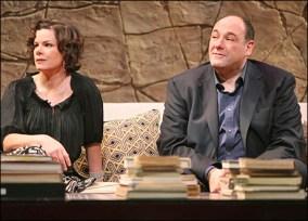 James Gandolfini in God of Carnage on Broadway