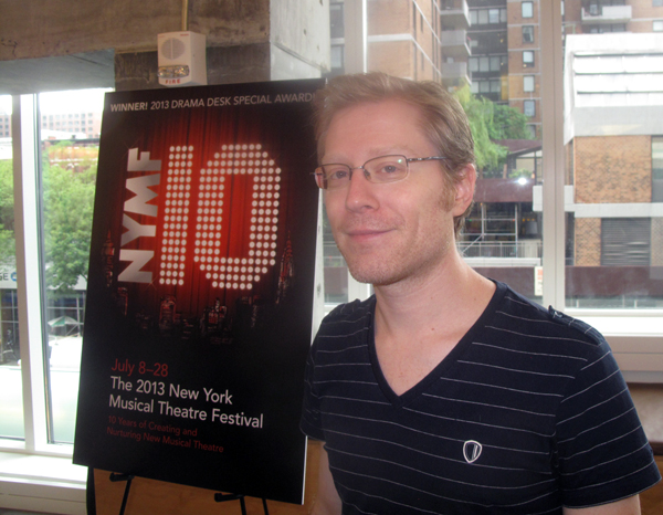 Anthony Rapp is starring in a show in the New York Musical Theatre Festival, now in its tenth year.
