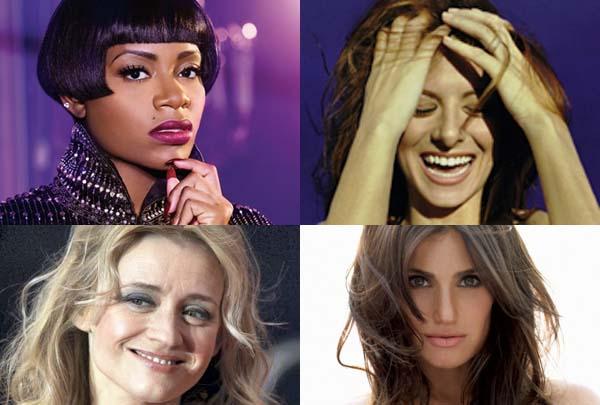 On Broadway soon, clockwise from top left: Fantasia, Debra Messing, Idina  Menzel, Anne-Marie Duff