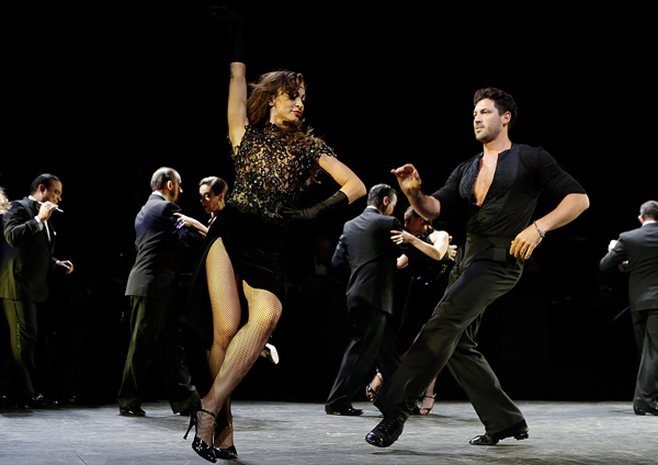 """""""Forever Tango"""" On Broadway Curtain Call & Departures"""