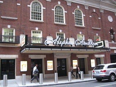 Stephen Sondheim Theater Environmentally Friendly Broadway New York Theater