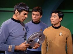 George Takei as Sulu in Star Trek