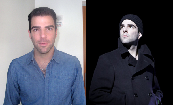 Zachary Quinto as Tom in The Glass Menagerie, coming to Broadway