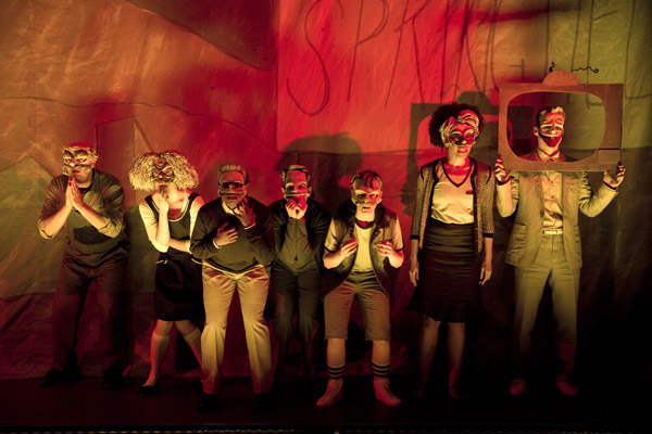 Mr. Burns, a post-electric play Playwrights Horizons/Mainstage Theater