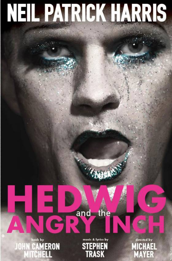 Neil Patrick Harris as Hedwig, new poster