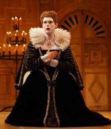 Samuel Barnett as Queen Elizabeth