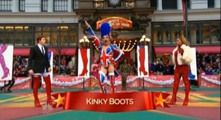 The controversial performance of Kinky Boots at the Thanksgiving parade in 2013