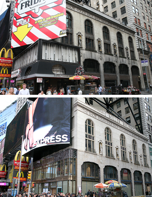 1552 Broadway before and after