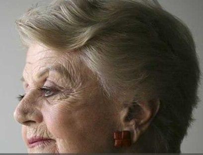 Angela Lansbury, 92, veteran of 14 Broadway shows, winner of five Tony Awards.