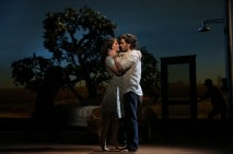 Kelli OHara and Steven Pasquale in The Bridges of Madison County, directed by Bartlett Sher