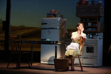 Kelli O'Hara as Francesa in The Bridges of Madison County