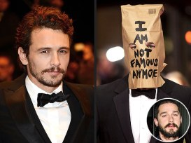james-franco and Shia LaBeouf