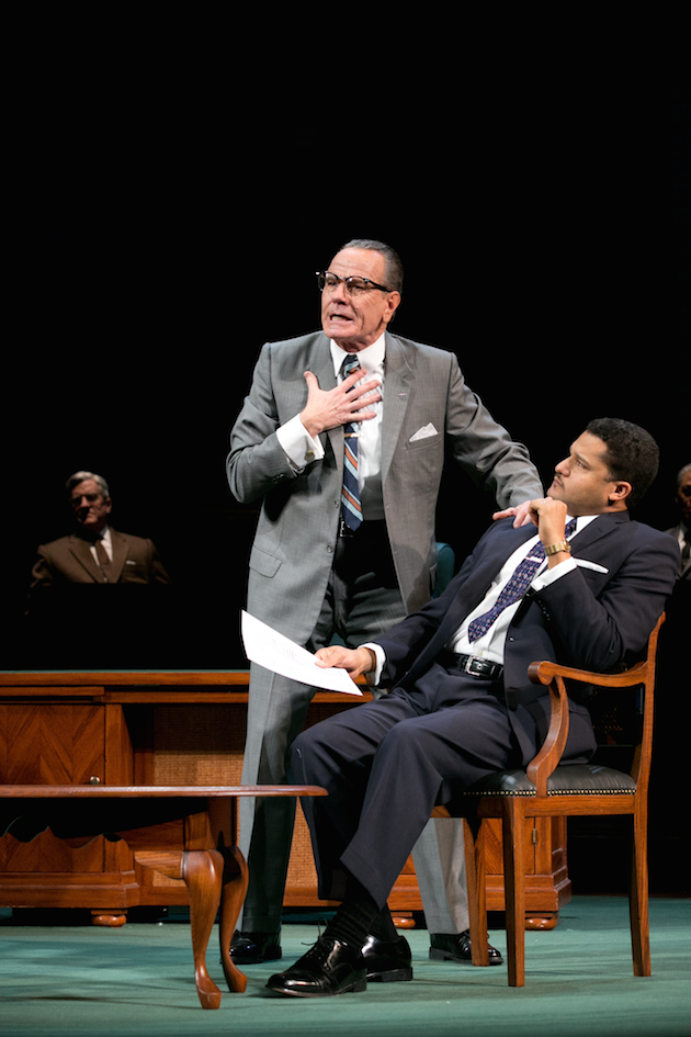 LBJ (Cranston) with MLKing Jr (Brandon J. Dirden)