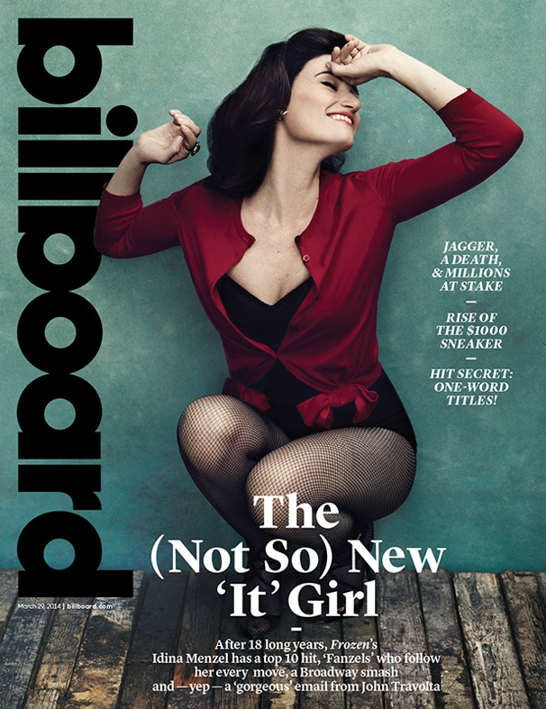 Idina Menzel on the Cover of Billboard