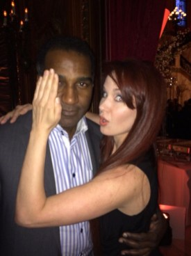 Co-star Sierra Boggess previews what Norm Lewis will look like as the Phantom