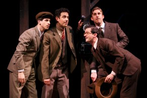 Moss Hart and his fellow theater office boys