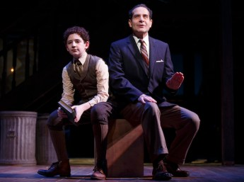 Tony Shalhoub as Moss Hart as child (Matthew Shechter) and adult (Tony Shalhoub)