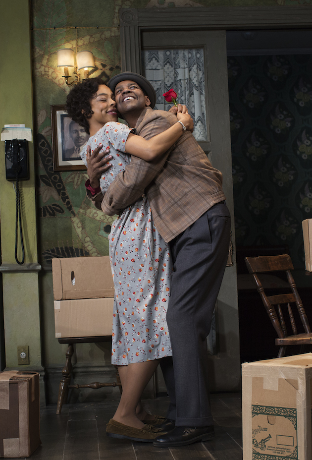 A Raisin in the Sun. on Broadway, with Denzel Washington and Sophie Okonedo