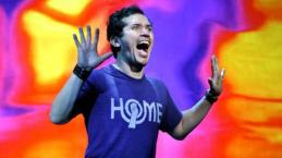 John Leguizamo performs Ghetto Clown at Central Park Summer Stage for free