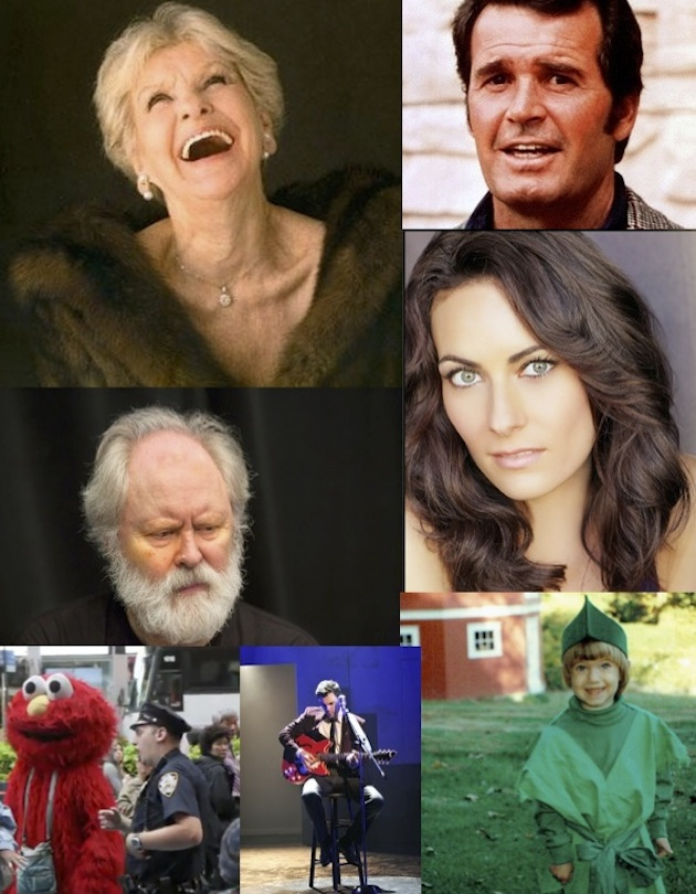 Elaine Stritch, James Garner, Laura Benanti, Peter Pan, Elmo, and John Lithgow as Lear are all featured in this month's quiz.