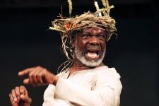 Joseph Marcell as King Lear