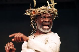 Joseph Marcell as King Lear