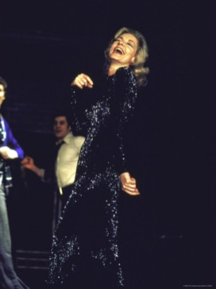 LaurenBacall on stage