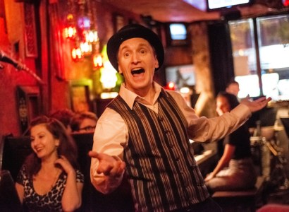 Opera in Tap performing at Freddy's Bar