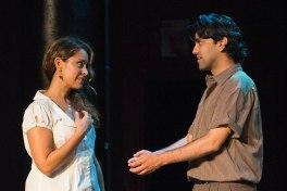 Lisann Valentin as Adele and Imran Sheikh as Devaj, lovers from afar