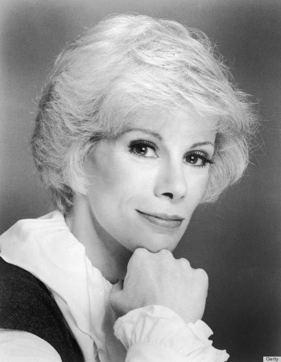 Headshot Portrait Of Joan Rivers