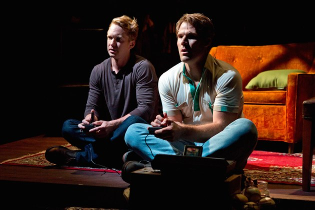 Roderick Hill as David and Erik Heger as his rapist