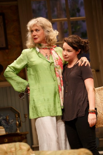 Blythe Danner and Sarah Steele