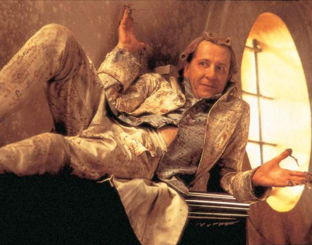"Geoffrey Rush as the Marquis de Sade in ""Quills"""