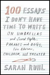 Sarah Ruhl essay book cover