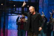 Sting at first curtain call